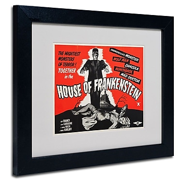 Trademark Fine Art 'House of Frankenstein'