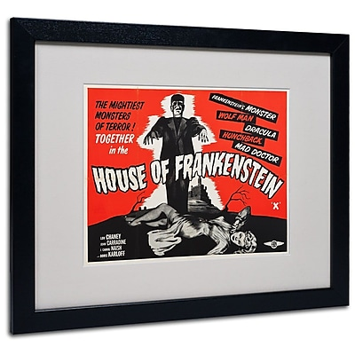 Trademark Fine Art 'House of Frankenstein' 16
