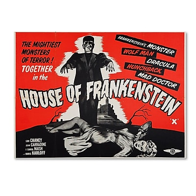 Trademark Fine Art 'House of Frankenstein' 14