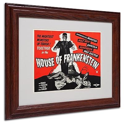 Trademark Fine Art 'House of Frankenstein' 11