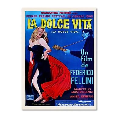 Trademark Fine Art 'La Dolce Vita' 14