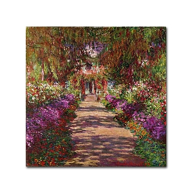 Trademark Fine Art 'A Pathway in Monet' 14
