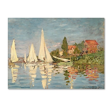 Trademark Fine Art 'Regatta at Argenteuil' 30