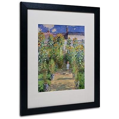 Trademark Fine Art 'The Artist's Garden at Vetheuil' 16