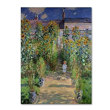 Trademark Fine Art 'The Artist's Garden at Vetheuil' 14