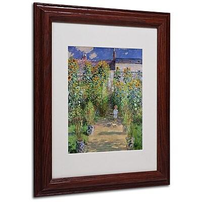 Trademark Fine Art 'The Artist's Garden at Vetheuil' 11