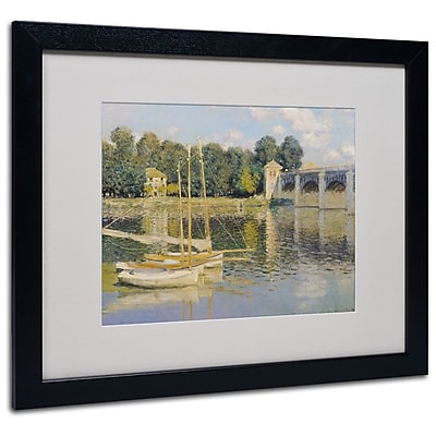 Trademark Fine Art 'The Bridge at Argenteuil' 16