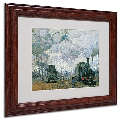 Trademark Fine Art 'Gare Saint-Lazare Arrival of a Train' 11