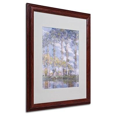 Trademark Fine Art 'The Poplars' 16