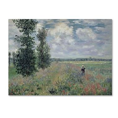 Trademark Fine Art 'The Poppy Field' 18