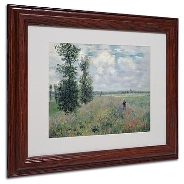 Trademark Fine Art 'The Poppy Field' 11