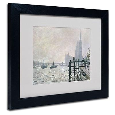Trademark Fine Art 'The Thames Below Westminster' 11