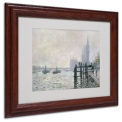Trademark Fine Art 'The Thames Below Westminster' 11