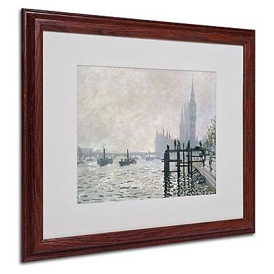 Trademark Fine Art 'The Thames Below Westminster' 16