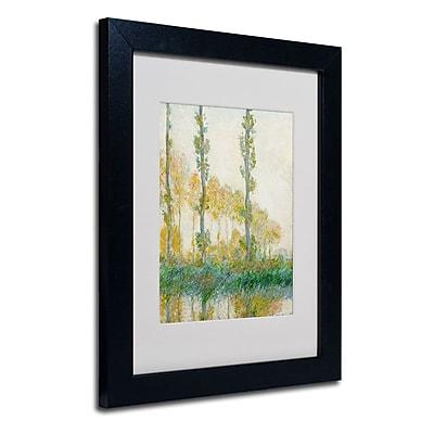 Trademark Fine Art 'The Three Trees Autumn' 11