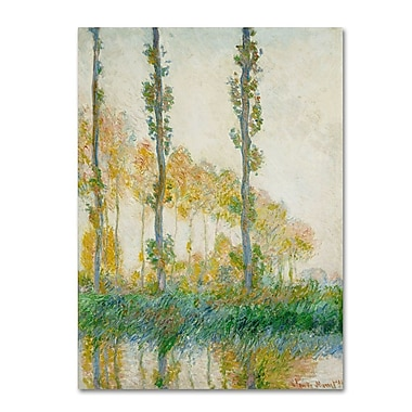 Trademark Fine Art 'The Three Trees Autumn' 26
