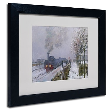 Trademark Fine Art 'Train In the Snow'
