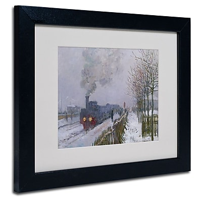 Trademark Fine Art 'Train In the Snow' 11