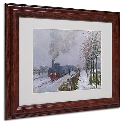 Trademark Fine Art 'Train In the Snow' 11