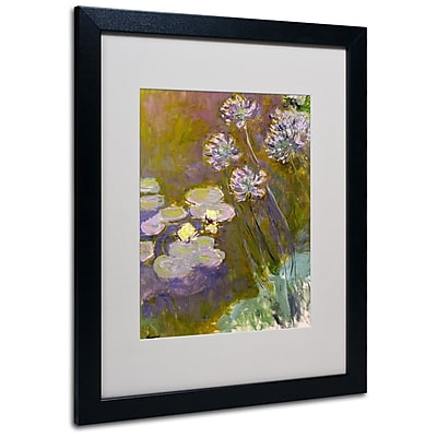 Trademark Fine Art 'Waterlilies and Agapanthus' 16