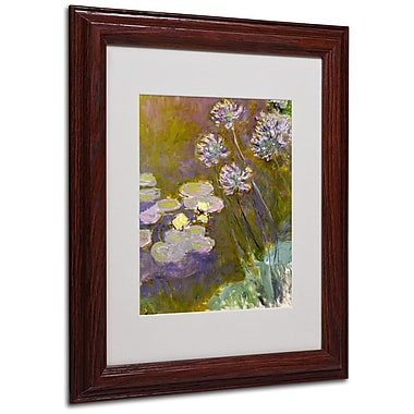 Trademark Fine Art 'Waterlilies and Agapanthus' 11