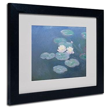 Trademark Fine Art 'Waterlilies Evening'