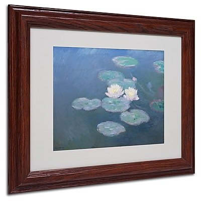 Trademark Fine Art 'Waterlilies Evening' 11