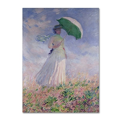 Trademark Fine Art 'Woman With a Parasol' 30