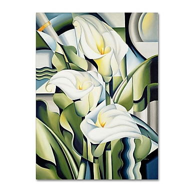 Trademark Fine Art 'Cubist Lilies' 24