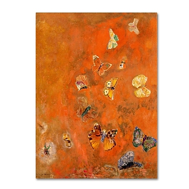 Trademark Fine Art 'Evocation of Butterflies' 35