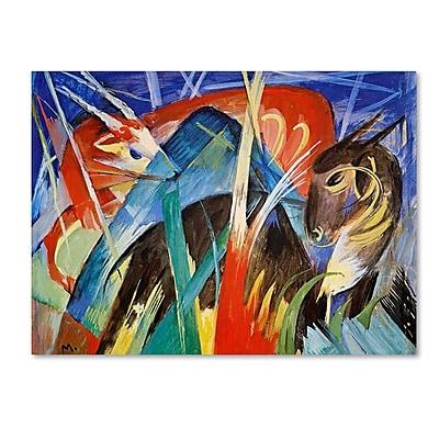 Trademark Fine Art 'Fairy Animals' 35