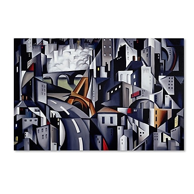 Trademark Fine Art 'La Rive Gauche' 30
