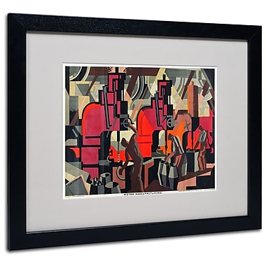 Trademark Fine Art 'Motor Manufacturing' 16