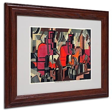 Trademark Fine Art 'Motor Manufacturing' 11