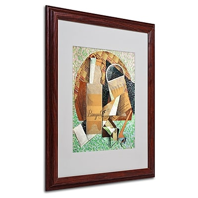 "Trademark Fine Art 'The Bottle of Banyuls' 16"" x 20"" Wood Frame Art"