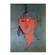 "Trademark Fine Art 'The Red Head' 24"" x 32"" Canvas Art"