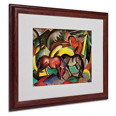 Trademark Fine Art 'Three Horses' 16