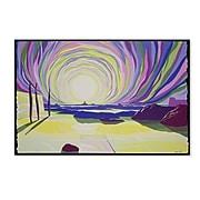 "Trademark Fine Art 'Whirling Sunrise, La Rocque' 30"" x 47"" Canvas Art"