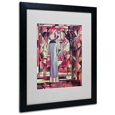 Trademark Fine Art 'Woman In Front of a Window' 16