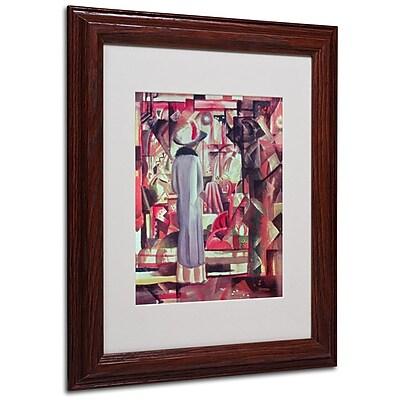 Trademark Fine Art 'Woman In Front of a Window' 11