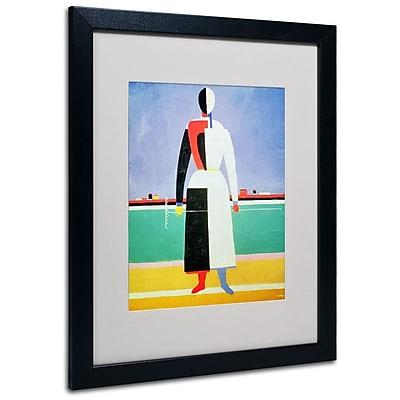 Trademark Fine Art 'Woman With Rake' 16
