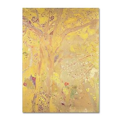 Trademark Fine Art 'Yellow Tree' 35