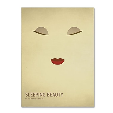 Trademark Fine Art 'Sleeping Beauty' 30