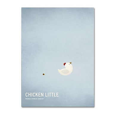 Trademark Fine Art 'Chicken Little' 16