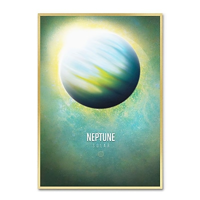 Trademark Fine Art 'Neptune' 30