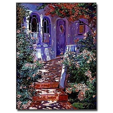 Trademark Fine Art 'Cottage Courtyard' 35