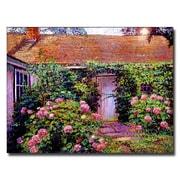 Trademark Fine Art 'Hydrangea Cottage'