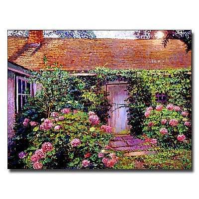 Trademark Fine Art 'Hydrangea Cottage' 18