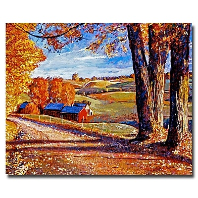 Trademark Fine Art 'Autumn Evening' 35
