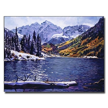 Trademark Fine Art 'Rocky Mountain Solitude' 35